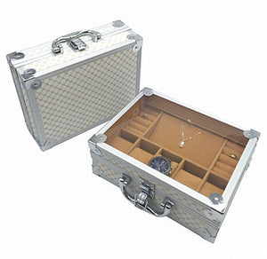 Aluminum Watch & Jewelry Storage Briefcase