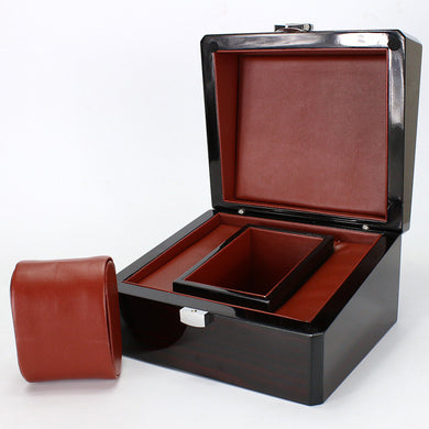 Luxury Dark Cherry Watch Box