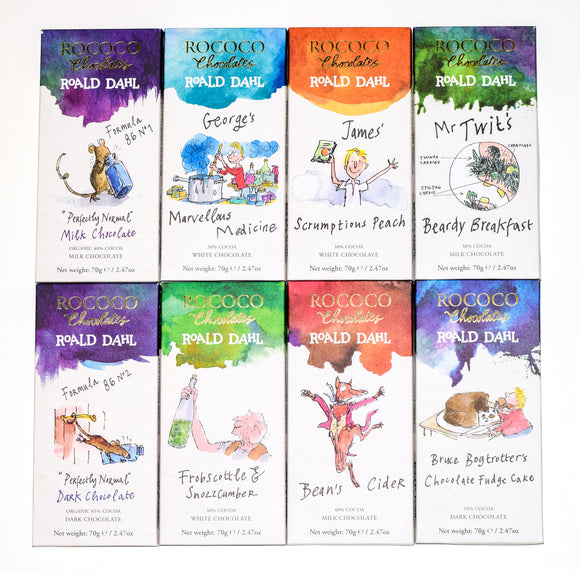 Rococo & Roald Dahl: Complete Artisan Chocolate Collection - Heavenly-Chocolates - artisan handmade chocolates