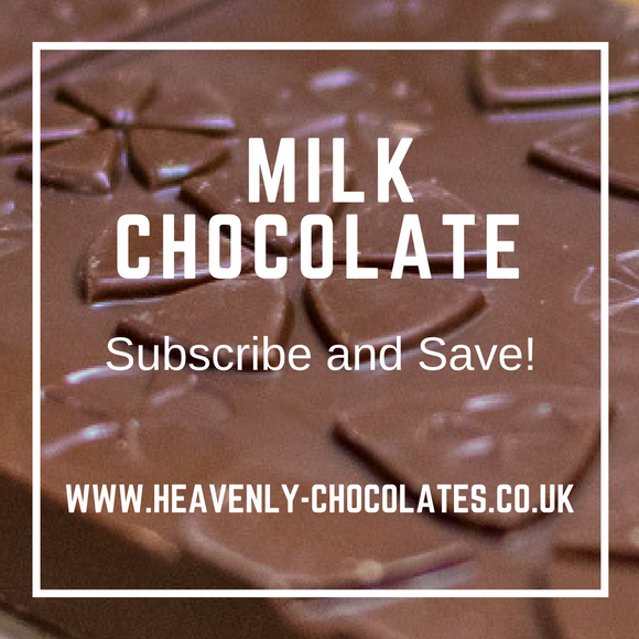 Heavenly Chocolates Artisan Milk Chocolate Bar Selection - Heavenly-Chocolates - artisan handmade chocolates