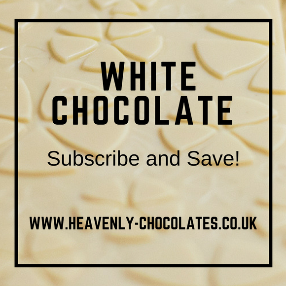 Heavenly Chocolates Artisan White Chocolate Bar Selection - Heavenly-Chocolates - artisan handmade chocolates