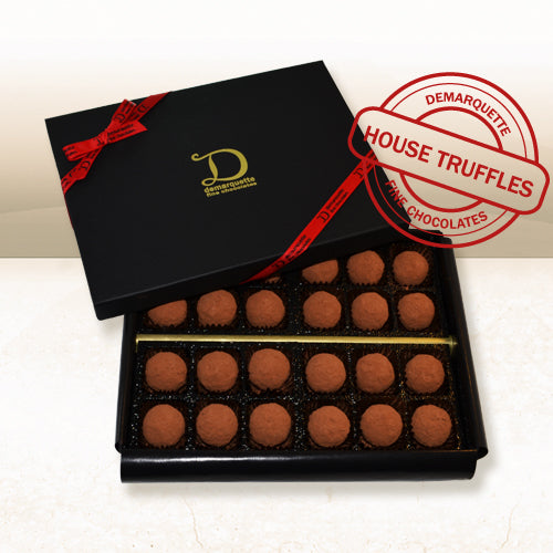 Demarquette - Luxury Truffle Box (24 truffles) - Heavenly-Chocolates - artisan handmade chocolates