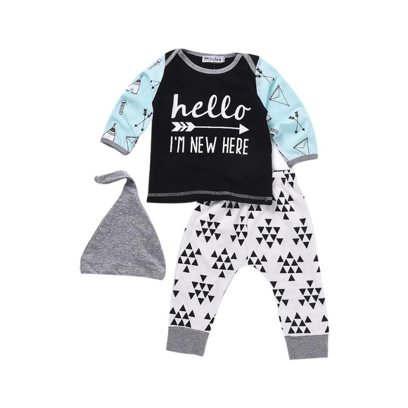 """hello I'm new here"" set for Baby"