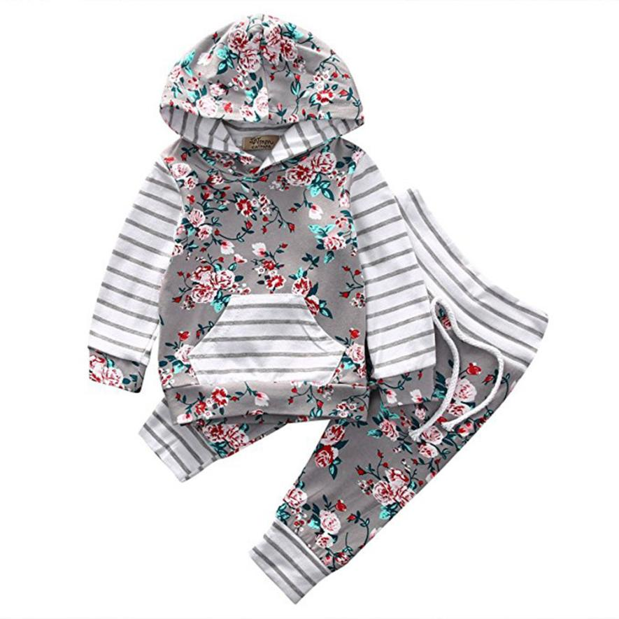 Set For Girls Hooded Top + Pants