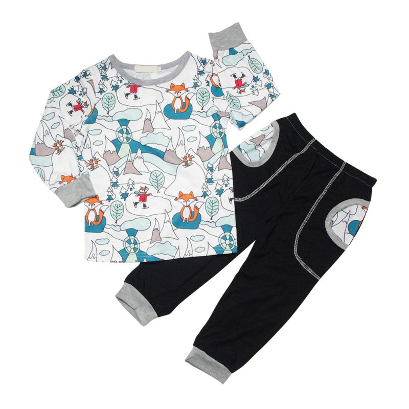 Fox Comfy Set for Boys