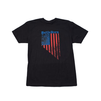 Battle Born Flag Men's