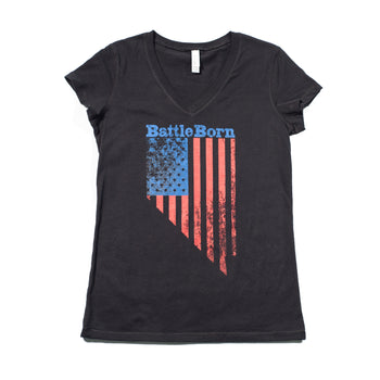 Battle Born Flag - Women's