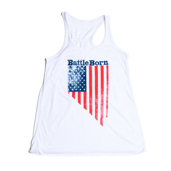 Battle Born Flag Tank - Women's