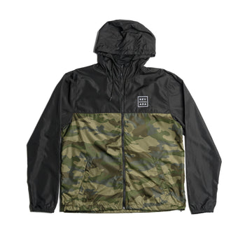 Blockade Camo Windbreaker