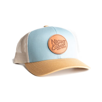 Smoke Blue and Gold NITC Hat