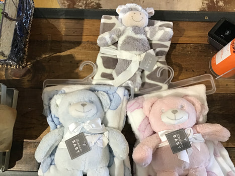Baby Blanket Toy Set