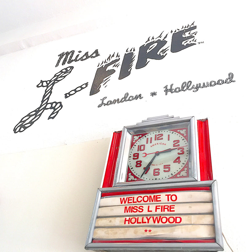 Welcome to Miss L Fire, Hollywood