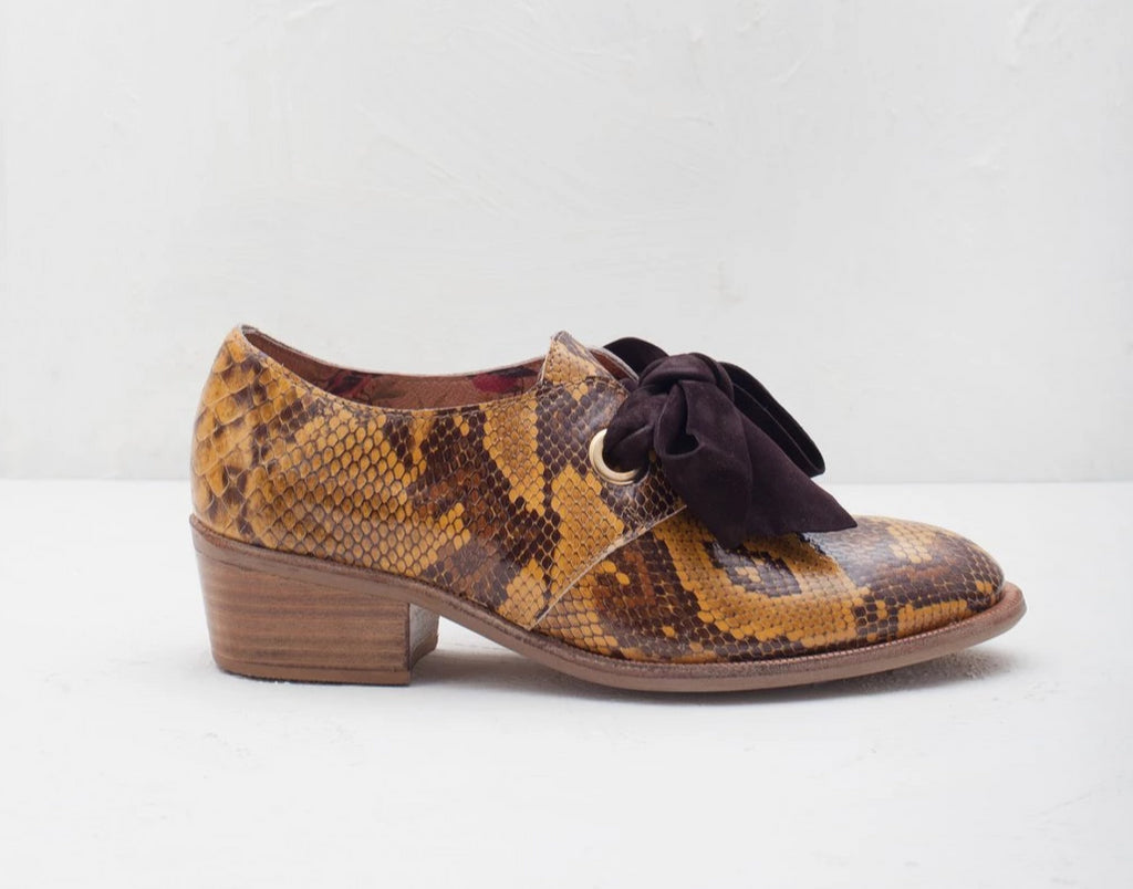 Ginger Snake Print- LAST PAIRS SIZES 36 & 40!