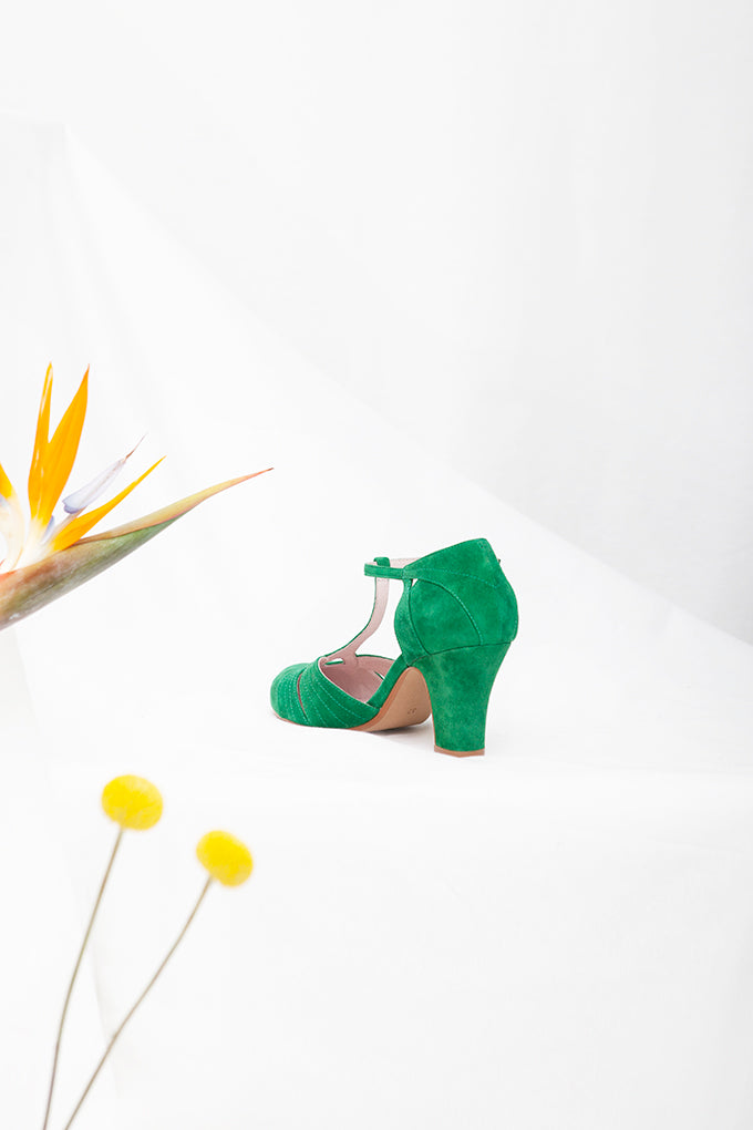 Hepworth Green Suede