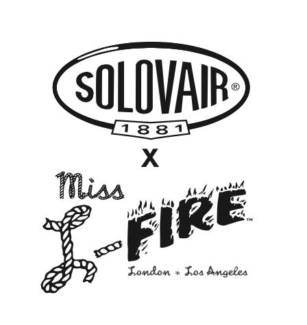Solovair x Miss L Fire || Derby burgundy