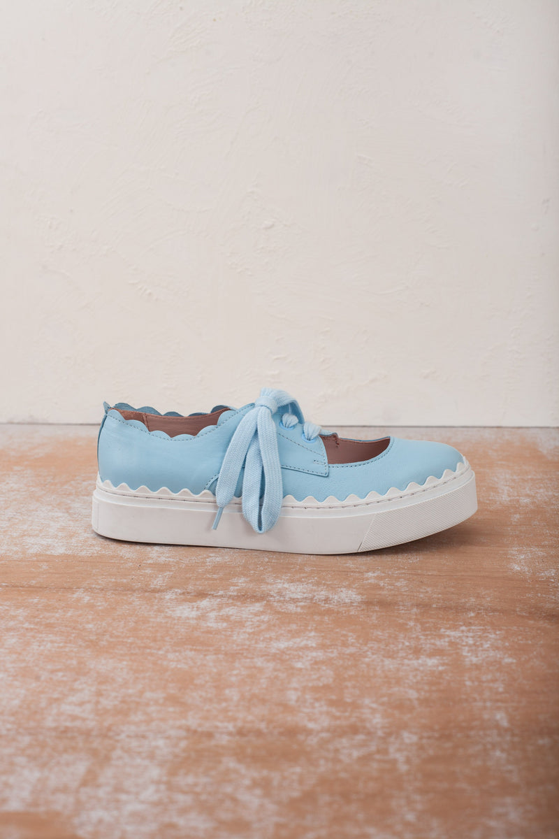 Iris Blue Flatform Sneaker-LAST PAIRS SIZES 37 & 40!