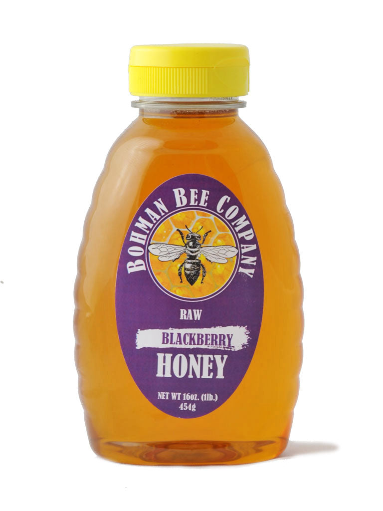 Raw Blackberry Honey - 16 oz