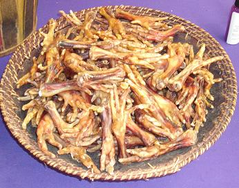 Dehydrated Chicken Feet