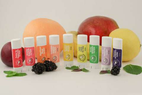 Lip Balm Rainbow Set