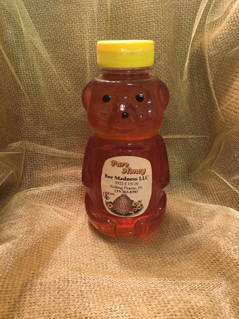 Delicious Raw Local Honey 1 lb Bear