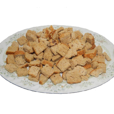 Organic Crunchy Garlic Sourdough Croutons