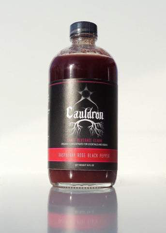 Raspberry Rose Black Pepper Elixir - 18 oz.