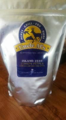 Island Zest-Lemon Pepper 8 oz