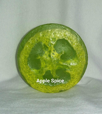 Apple Spice Loofah Soap 4.5 oz