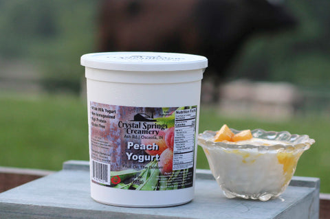 Peach Yogurt  32 oz.