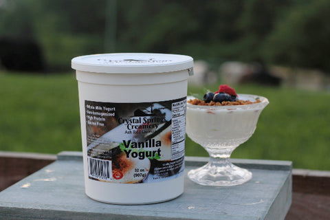 Vanilla Yogurt  32 oz.