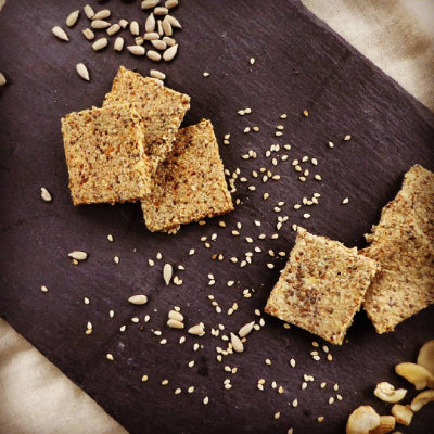 Chia Crackers- Grain free and Gluten Free