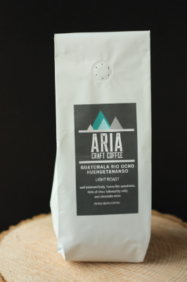 Locally Roasted Coffee - Guatemala Rio Ocho Huehuetenango (Whole Bean - 8oz)
