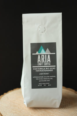 Locally Roasted Coffee - Guatemala Rio Ocho Huehuetenango (Ground - 8oz)