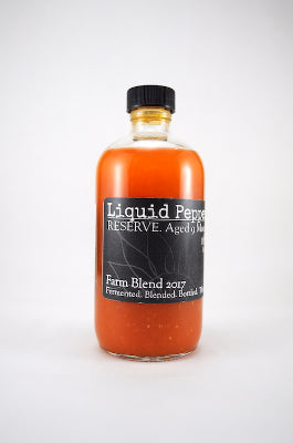 Liquid Peppers RESERVE - Farm Blend 2017 Hot Sauce