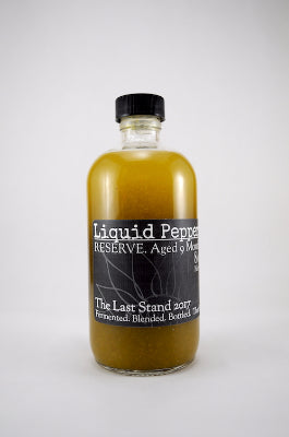 Liquid Peppers RESERVE - The Last Stand 2017 Hot Sauce
