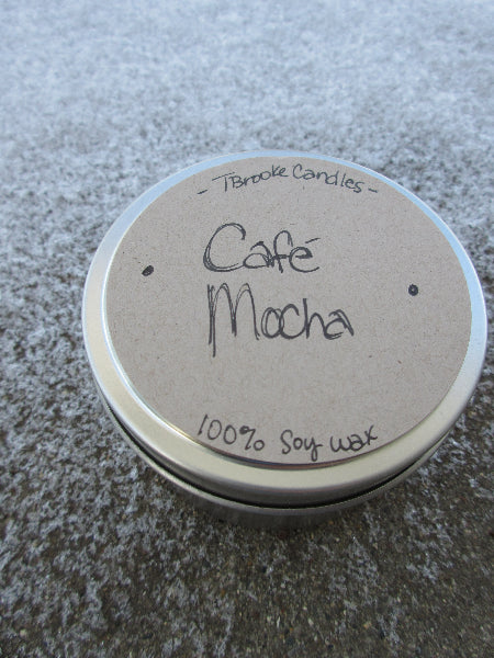 6 oz. Cafe Mocha Soy Candle