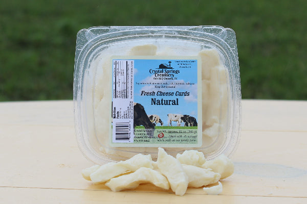 Natural Cheese Curds 12 oz.