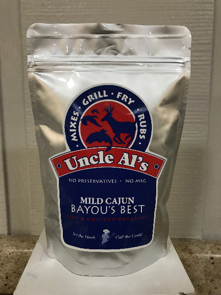 Breading - Uncle Al's Mild Cajun 8 oz