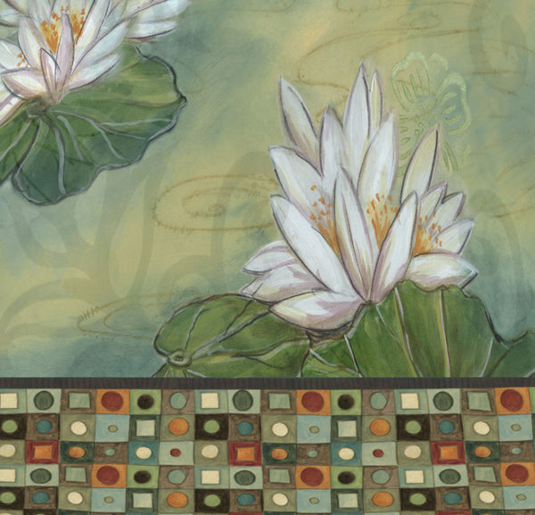 Water Lily Mosaic