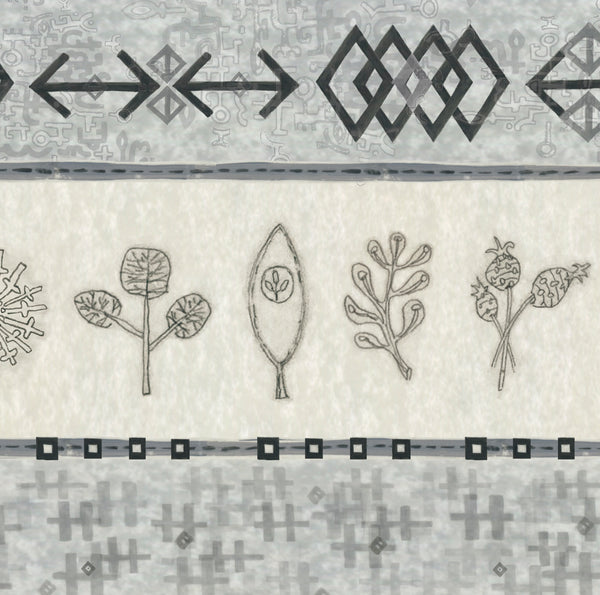 Woven & Sprig in Mist
