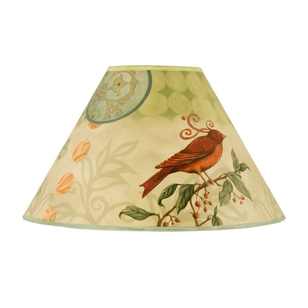 Birdscape Medium Conical Lamp Shade