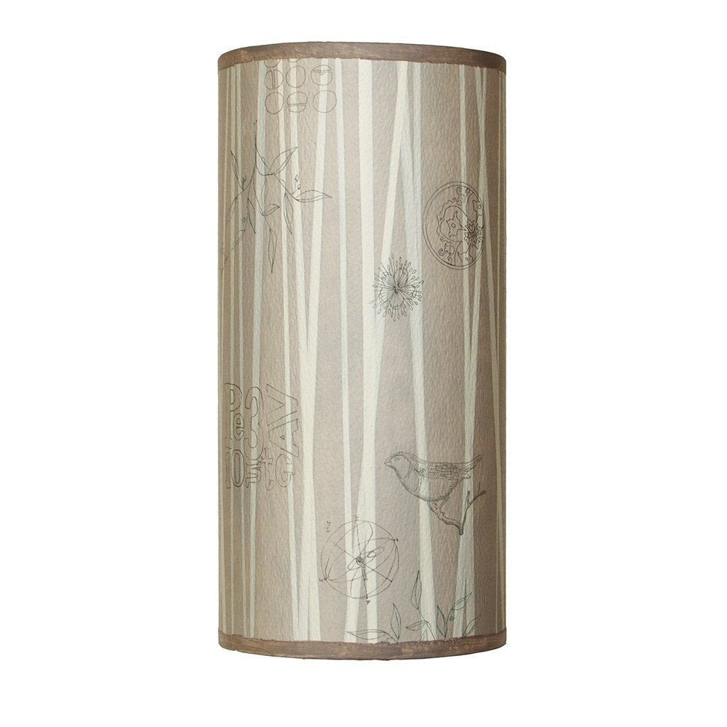 Birch Accent Tube Lamp Shade