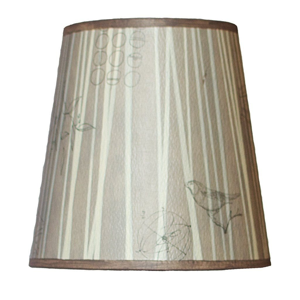 Birch Accent Drum Lamp Shade