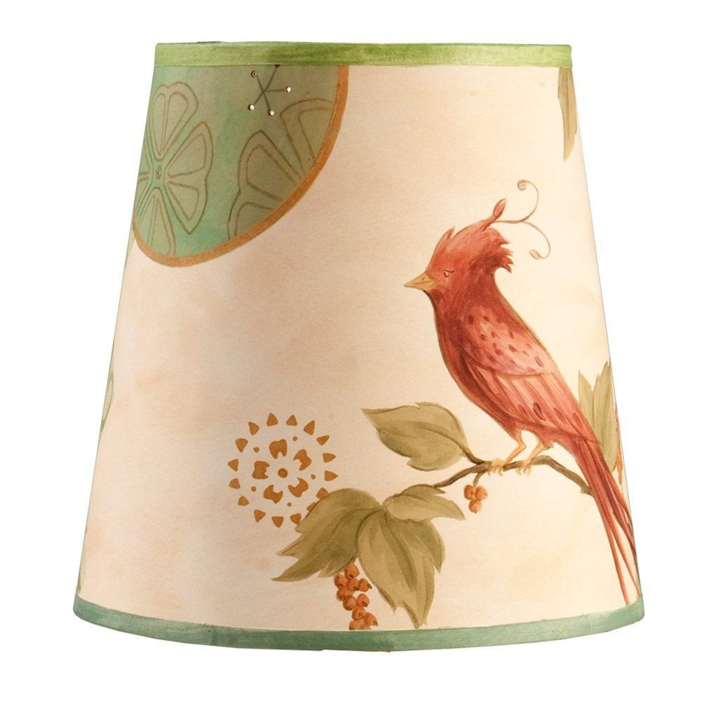 Sweet Bird in Bisque Accent Drum Lamp Shade