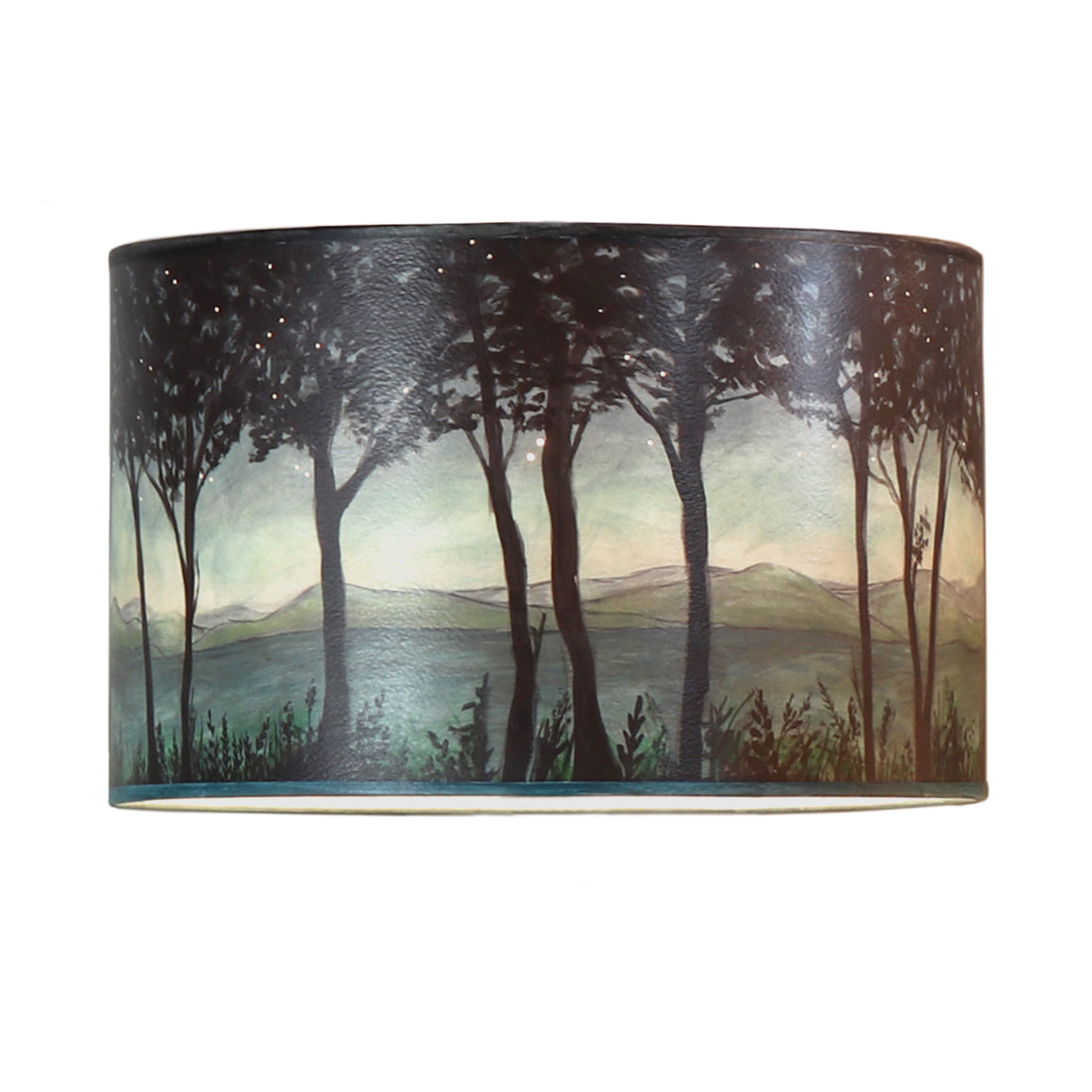 Large Drum Lamp Shade in Twilight
