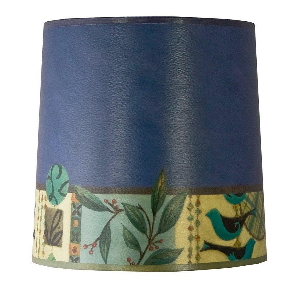New Capri in Periwinkle Medium Drum Lamp Shade