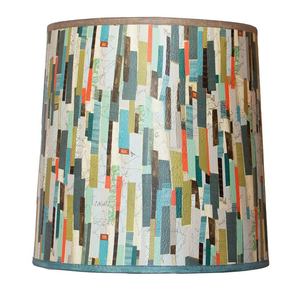 Papers Medium Drum Lamp Shade