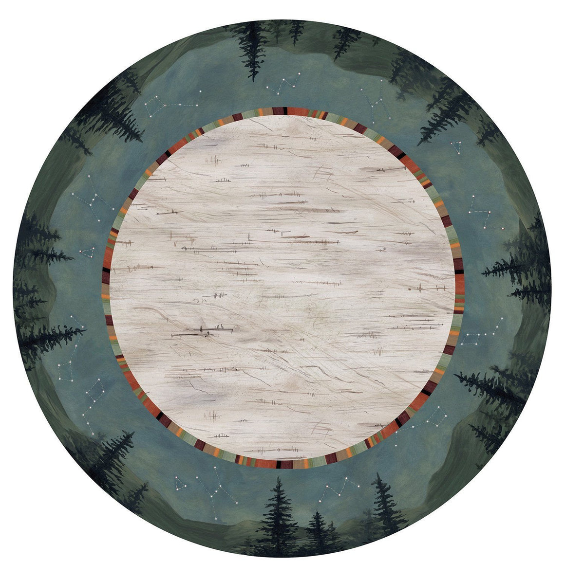 Large Lazy Susan in Birch Midnight