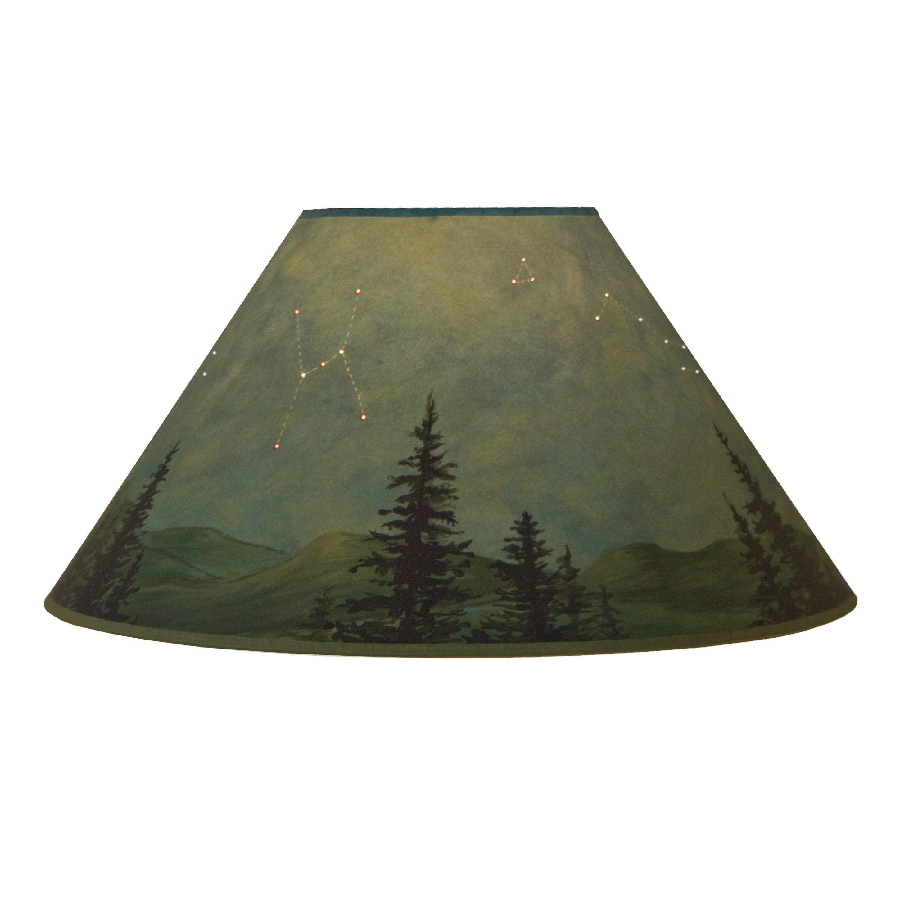 Large conical lamp shade in midnight sky ugone thomas wholesale large conical lamp shade in midnight sky mozeypictures Choice Image