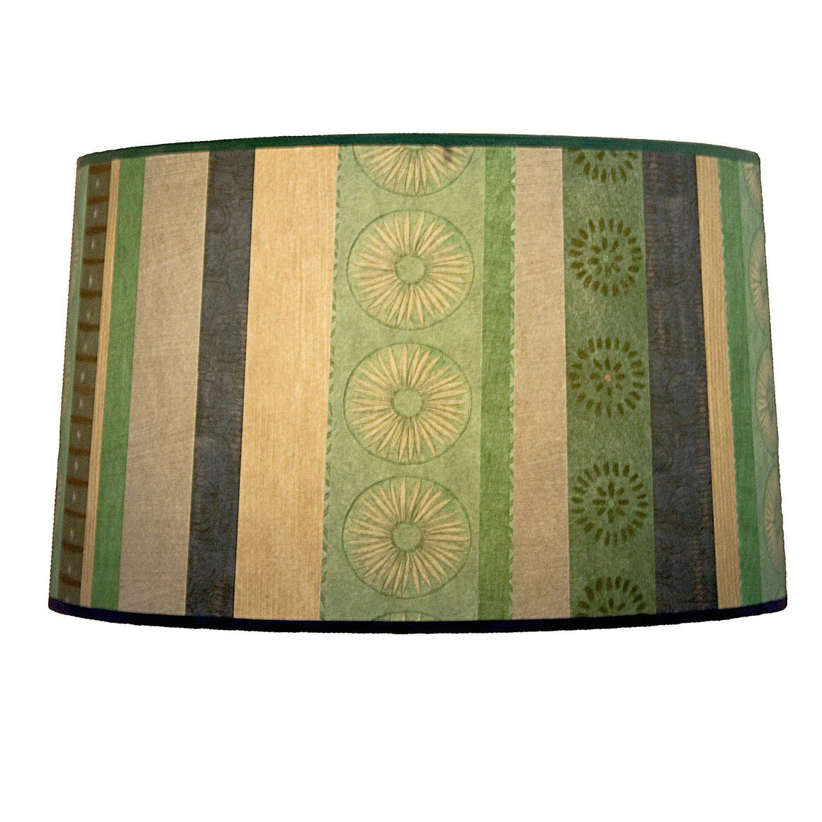Serape Waters Large Drum Lamp Shade